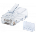 Intellinet 790611 RJ-45 Transparent,White Wire Connector