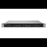 QNAP TS-463XU Ethernet LAN Rack (1U) Aluminium,Black NAS