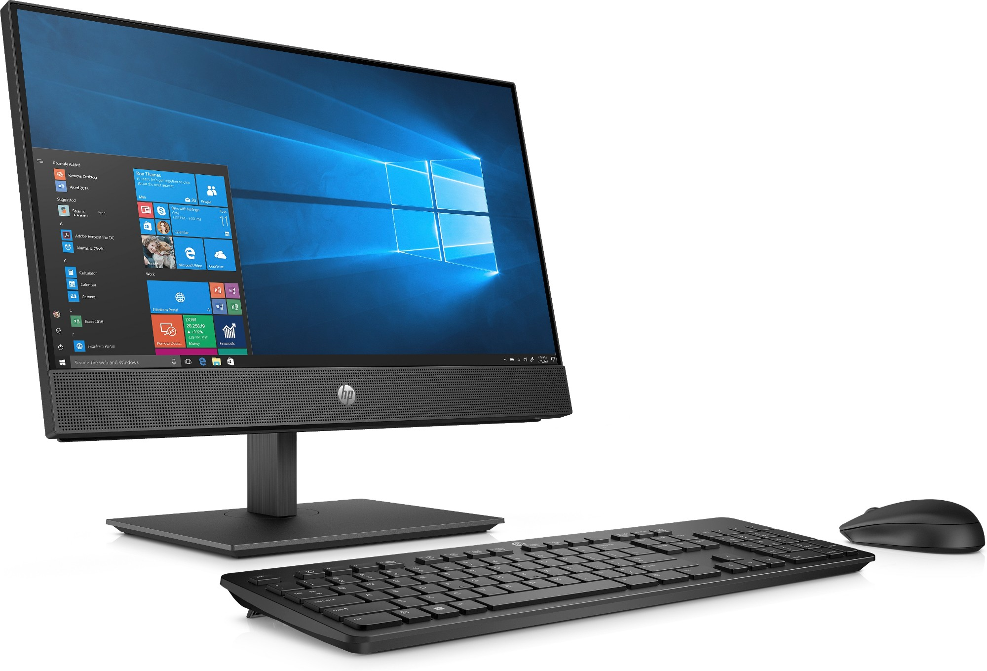 "HP 600 G4 AIO I5-8500T 21.5"" PLUS HP E223 21.5 MONITOR FOR $109 (1FH45AA)"