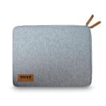 "Port Designs TORINO notebook case 39.6 cm (15.6"") Sleeve case Grey"
