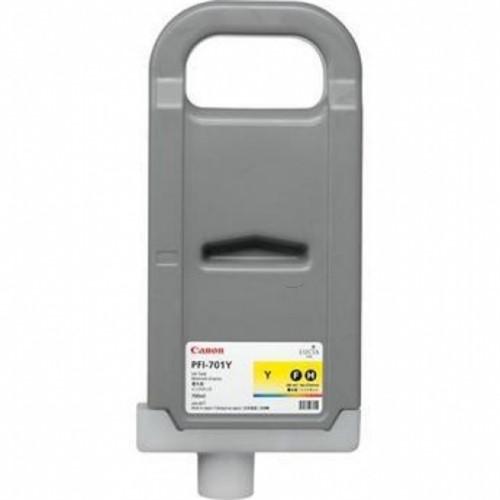 Canon 0903B001 (PFI-701 Y) Ink cartridge yellow, 700ml