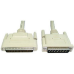 Cables Direct 1m HP68/D25 M/M SCSI cable Beige External DB68/HP DB25