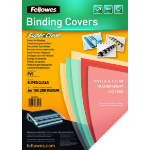 Fellowes 5376102 A4 PVC Transparent 100pc(s) binding cover