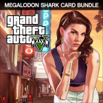 Rockstar Games Grand Theft Auto V Megalodon Shark Cash Card Bundle PC Basic PC video game