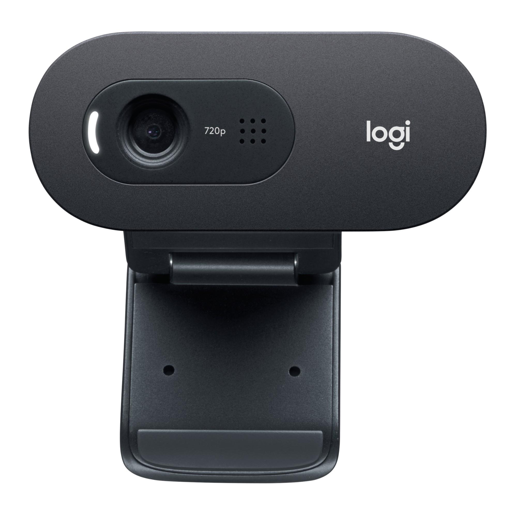 Logitech C505e cámara web 1280 x 720 Pixeles USB Negro