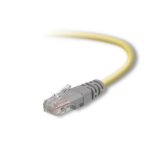 Belkin UTP CAT5e 3m 3m Cat5e U/UTP (UTP) Yellow networking cable