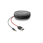 POLY Calisto 5200 speakerphone Universal Black, Red