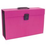 Rexel JOY Expanding Box File Pretty Pink