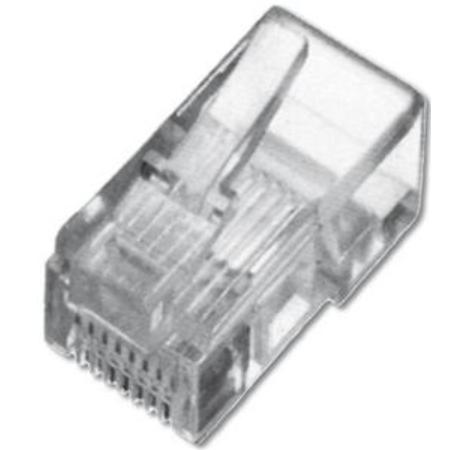 Digitus A-MO6/6SF RJ-12 Transparent wire connector