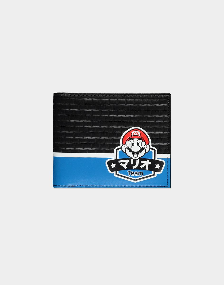 Nintendo Super Mario Summer Olympics wallet Male Faux leather Multicolor