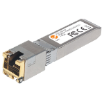 Intellinet 10 Gigabit Copper SFP+ Transceiver Module, 10GBase-T (RJ45) Port, 30m, up to 10 Gbps Data-Transfer Rate with Cat6a Cabling, Equivalent to Cisco MA-SFP-10G-T, Three Year Warranty