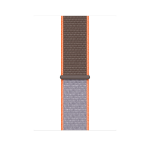 Apple MXMT2ZM/A smartwatch accessory Band Brown,Grey,Orange Nylon