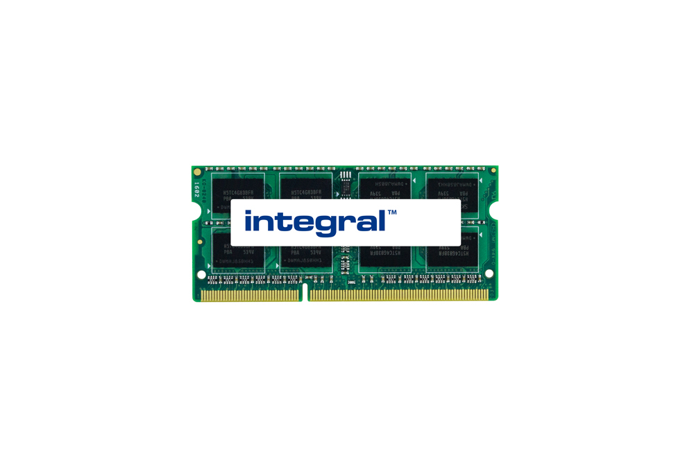 Integral IN3V8GNYJGX 8GB LAPTOP RAM MODULE DDR3 1066MHZ