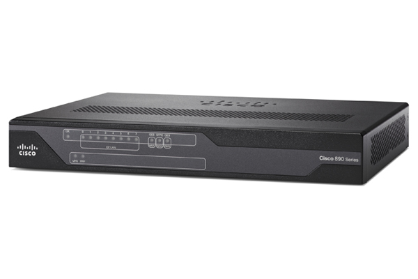 Cisco C897VA-M-K9 Ethernet LAN ADSL2+ Black wired router