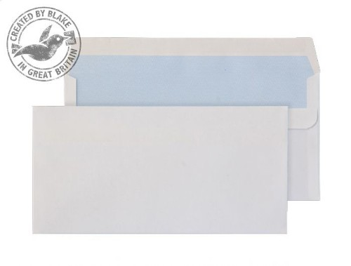 Blake Purely Everyday White Self Seal Wallet DL 110X220mm 80gsm (Pack 50)