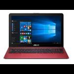 """ASUS VivoBook Max X441NA-GA015T 1.10GHz N3350 14"""" 1366 x 768Pixeles Rojo Portátil"""
