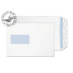 Blake Premium Office Pocket Window Peel and Seal Ultra White Wove C5 120gsm (Pack 500)