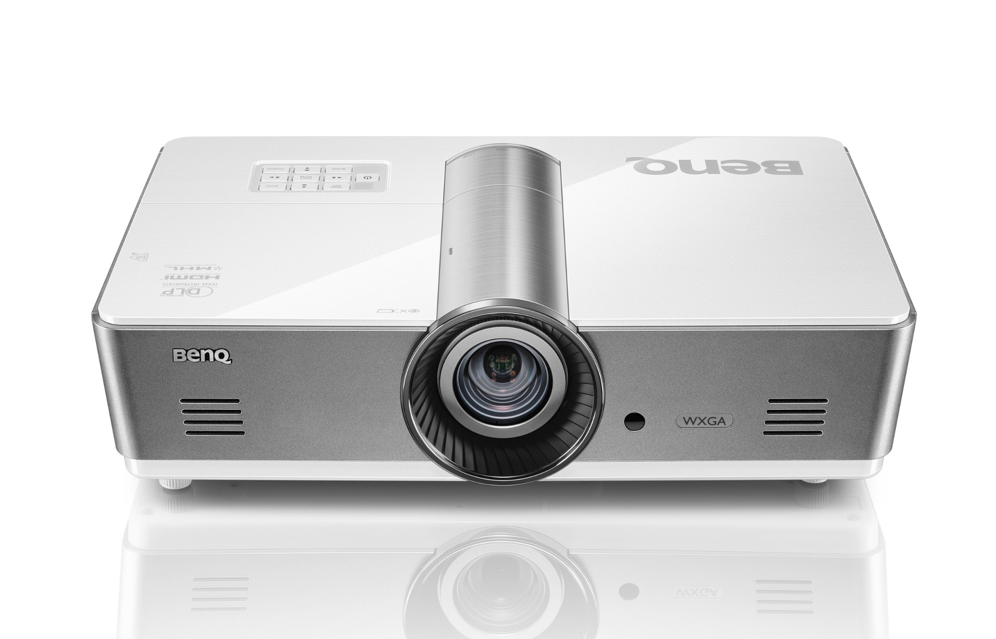 Benq SW921 Desktop projector 5000ANSI lumens LCD WXGA (1280x800) 3D Silver, White data projector