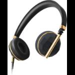 Caeden Linea Nº1 Headset Head-band Carbon,Gold