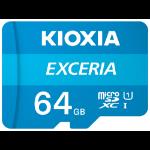 Kioxia Exceria memory card 64 GB MicroSDXC Class 10 UHS-I