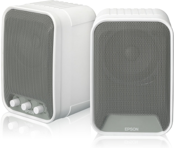 Epson ELPSP02 - Active speakers