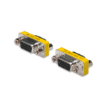 Digitus AK-610512-000-I VGA VGA Stainless steel,Yellow cable interface/gender adapter