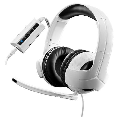 Thrustmaster Y-300CPX Binaural Head-band White headset