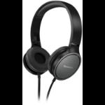 Panasonic RP-HF500ME Head-band Binaural Wired Black mobile headset