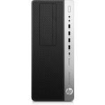 HP EliteDesk 800 G5 9th gen Intel® Core™ i5 i5-9500 8 GB DDR4-SDRAM 256 GB SSD Tower Black PC Windows 10 Pro