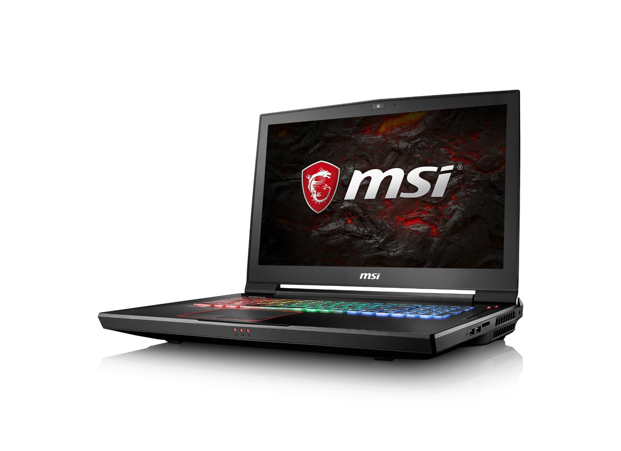 "MSI Gaming GT73VR 7RE(Titan)-287UK 2.8GHz i7-7700HQ 17.3"" 1920 x 1080pixels Black Notebook"