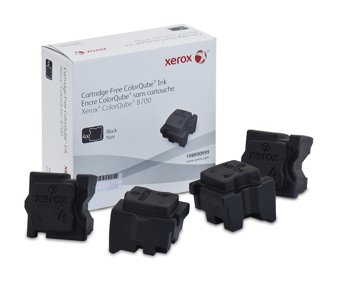 Xerox Colorqube 8700/8900 Tinta Sólida Negra (4 Barras, Imprime 9000 Páginas)