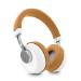 Energy Sistem BT Smart 6 Voice Assistant Caramel auriculares para móvil Binaural Diadema Marrón, Gris, Blanco