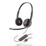 Plantronics Blackwire 3220 Binaural Head-band Black headset
