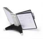 Durable SHERPA document display carousel Desk Portrait A4
