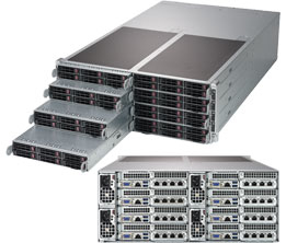 Supermicro SYS-F619P2-RT server barebone Intel® C621 LGA 3647 Rack 4U Black