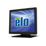 "Elo Touch Solution 1517L Rev B 38.1 cm (15"") 1024 x 768 pixels Black Single-touch Tabletop"
