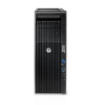 HP Z620 E5-2620V2 Mini Tower Intel® Xeon® E5 V2 Family 16 GB DDR3-SDRAM 1000 GB HDD Windows 7 Professional Workstation Black