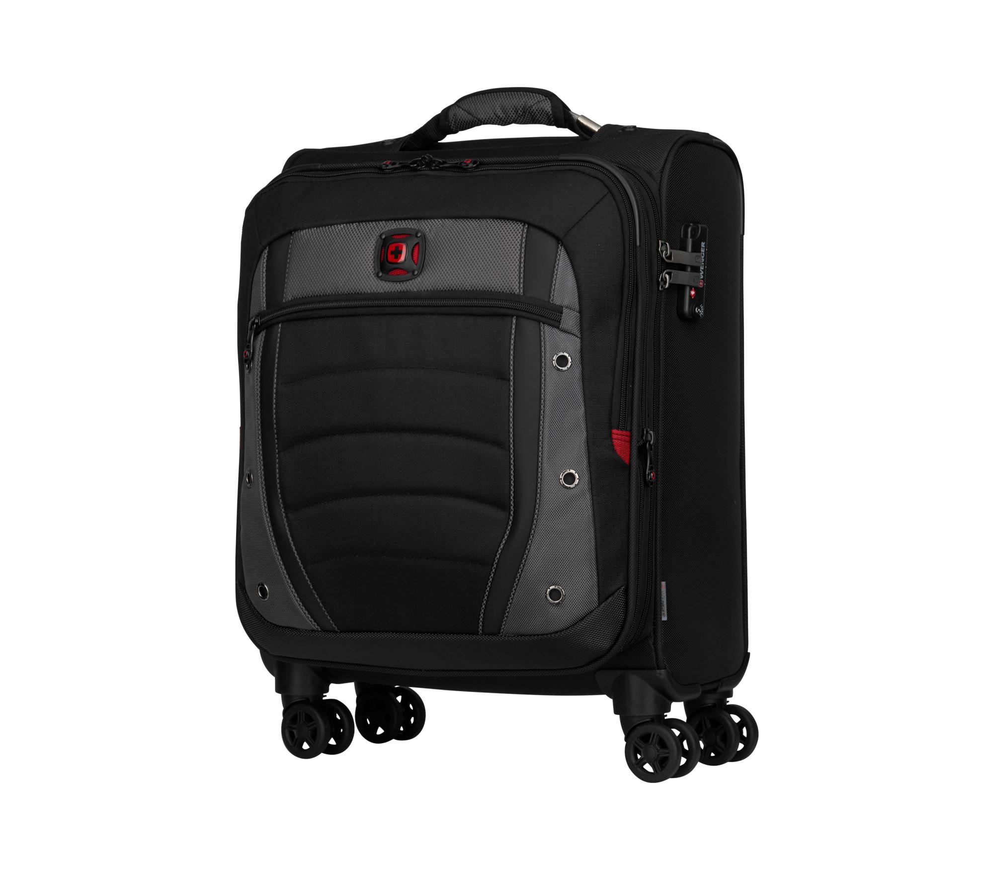 Wenger/SwissGear 604377 luggage bag Trolley Black,Grey 42 L