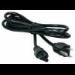 Microconnect US/IEC 320 C5 1.8m 1.8m C5 coupler Black power cable