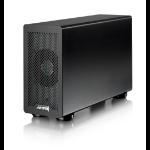 AKiTiO Thunder2 PCIe Box SSD enclosure Black
