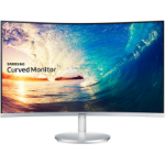 "Samsung C27F591FDU LED display 68.6 cm (27"") Full HD Curved Silver,White"