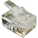 Cablenet 22 2143 RJ11 Transparent wire connector