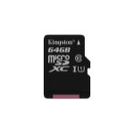 Kingston Technology Canvas Select memory card 64 GB MicroSD Class 10 UHS-I