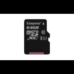 Kingston Technology Canvas Select 64GB MicroSD UHS-I Class 10 memory card