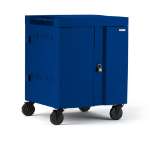 Bretford Cube Portable device management cart Blue