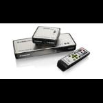 iogear GWHDMS52MB AV transmitter & receiver Black AV extender