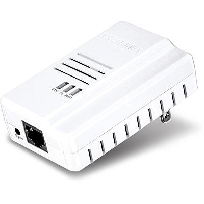 Trendnet Powerline 500 500Mbit/s Ethernet LAN White 1pc(s) PowerLine network adapter