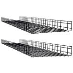 Tripp Lite SRWB18410X2STR cable tray Straight cable tray Black