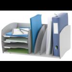 FastPaper Fast Paper Desktop Organizer 4 Comp Grey DD