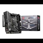 MSI MPG B460I GAMING EDGE WIFI motherboard LGA 1200 mini ITX